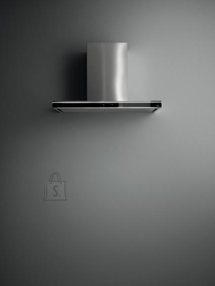 Falmec Seina õhupuhastaja LUMINA NRS 90cm, 800m3/h, NEON 1x21W, rv teras AISI304/must, max 53dB