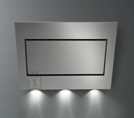 Falmec Seina õhupuhastaja QUASAR TOP 90cm A+, 800m3/h, LED 3x1,2W (3200K), sõrmejäljevaba rv teras Fasteel