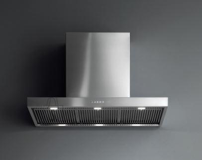 Falmec Seina õhupuhastaja MARTE 120cm PRO, 950 m3/h, LED 4x1,2W (3200K), rv teras AISI304