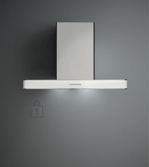 Falmec Seina õhupuhastaja STILO NRS 90cm, 800m3/h, LED 3x1,2W (3200K), rv teras AISI304/valge, max 53dB