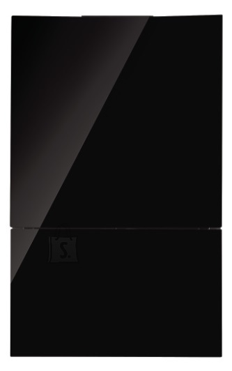 Falmec Seina õhupuhastaja GHOST 60cm, sügavus 14,7 cm, 600m3/h, LED riba 4W (5500K)+ taustavalgus 2x5W(5500K), rv teras AISI304/must