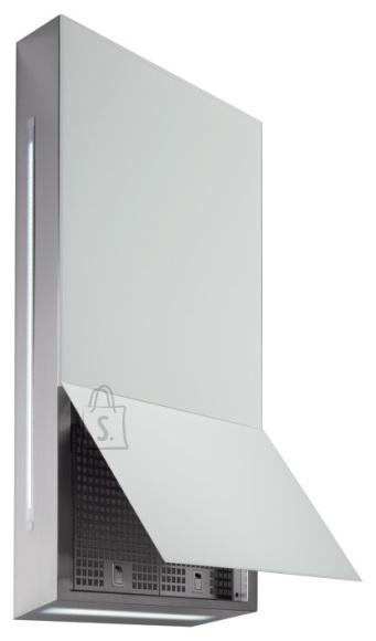 Falmec Seina õhupuhastaja GHOST 60cm, sügavus 14,7 cm, 600m3/h, LED riba 4W (5500K)+ taustavalgus 2x5W(5500K), rv teras AISI304/valge