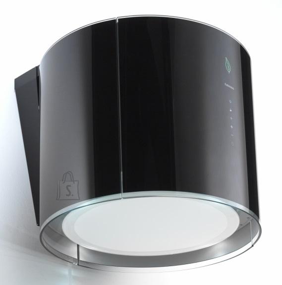 Falmec Seina õhupuhastaja EOLO E-ION 45cm, LED 4x1,2W (3200K), 450 m3/h, must