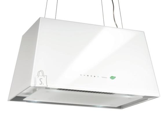 Falmec Seina õhupuhastaja LUMIERE E-ION 67cm, 450 m3/h, LED 4x1,2W (3200K), valge klaas