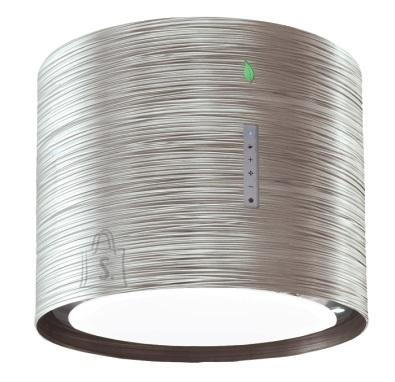 Falmec Seina õhupuhastaja TWISTER E-ION 45cm, 450 m3/h, LED 4x1,2W (3200K), titanium