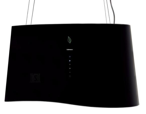 Falmec Seina õhupuhastaja MARE E-ION 66cm, 450 m3/h, LED 4x1,2W (3200K), must klaas