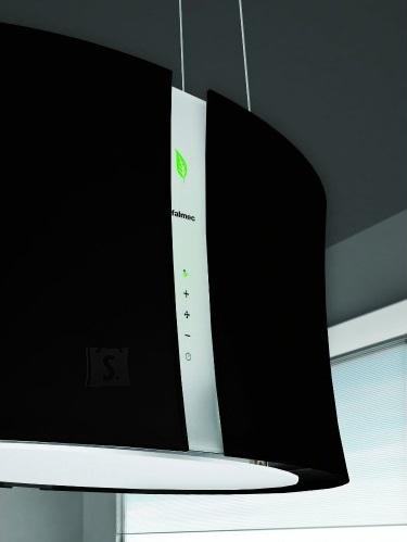 Falmec Seina õhupuhastaja ZEPHIRO E-ION 66cm, 450 m3/h, LED 4x1,2W (3200K), must mattklaas