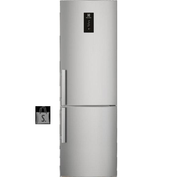 Electrolux külmik, NoFrost, 201 cm, A+++, 43dB, puutetundlik, RV teras