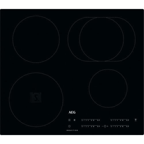 AEG Pliidiplaat AEG, 4 x induktsioon, 60 cm, must