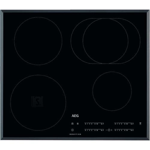 AEG Pliidiplaat AEG, 4x induktsioon, 60 cm, must, faasitud serv