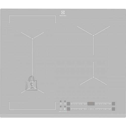Electrolux Pliidiplaat Electrolux, 4 x induktsioon, 60 cm, hõbedane, faasitud esiserv