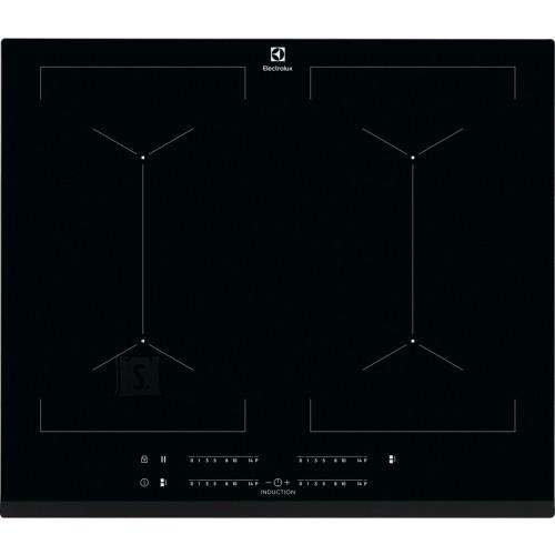Electrolux Pliidiplaat Electrolux, 4 x induktsioon, 60 cm, must, faasitud esiserv