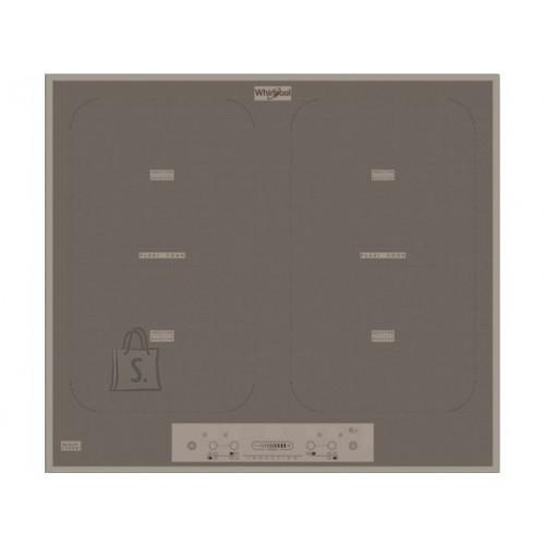 Whirlpool Pliidiplaat Whirlpool, 4 x induktsioon, flexi tsoon, 58 cm, hõbedane