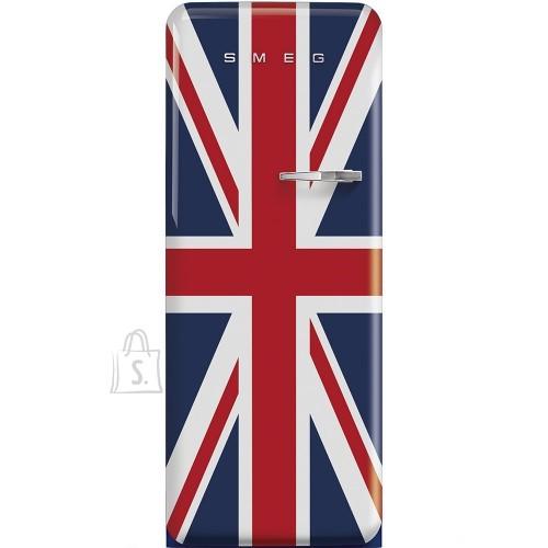 Smeg Külmik Smeg, 50-ndate stiil, 150 cm, A+++, 38 dB, elektrooniline juhtimine, Union Jack