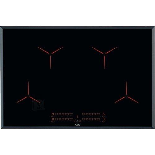 AEG Pliidiplaat AEG, 4 x induktsioon, 78 cm, faasitud, must