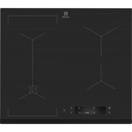 Electrolux Pliidiplaat Electrolux, 4 x induktsioon, flexi tsoon, 60 cm, Hob2Hood, faasitud esiserv, tumehall