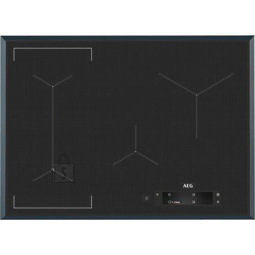 AEG Pliidiplaat AEG, 4 x induktsioon, flexi tsoon, 71 cm, Hob2Hood, faasitud, tumehall