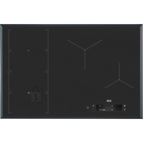 AEG Pliidiplaat AEG, 4 x induktsioon, flexi tsoon, 78 cm, Hob2Hood, faasitud, tumehall
