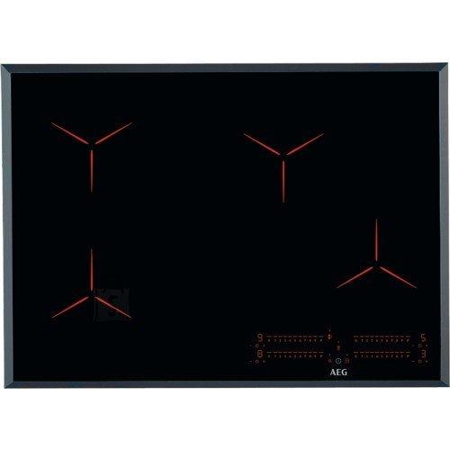 AEG Pliidiplaat AEG, 4 x induktsioon, flexi tsoon, 71 cm, Hob2Hood, faasitud, must