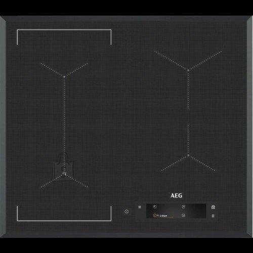 AEG Pliidiplaat AEG, 4 x induktsioon, 60 cm, Hob2Hood, faasitud serv, tumehall