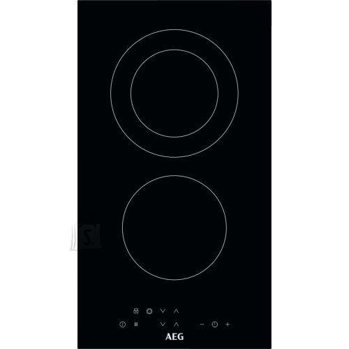 AEG Pliidiplaat AEG, Domino, 2x HighLight, 29 cm, must