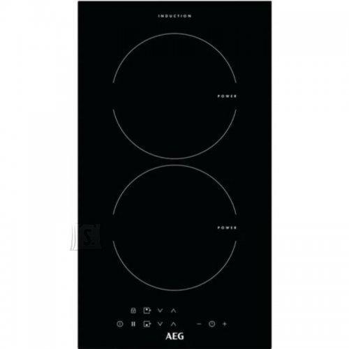 AEG Pliidiplaat AEG, Domino, 2 x induktsioon, 29 cm, must, lõigatud serv