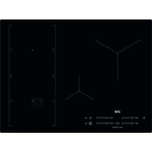 AEG Pliidiplaat AEG, 4 x induktsioon, flexi tsoon, 70 cm, Hob2Hood, must