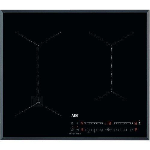 AEG Pliidiplaat AEG, 4 x induktsioon, 60 cm, Hob2Hood, faasitud, must