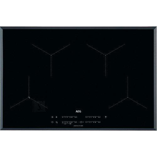 AEG Pliidiplaat AEG, 4 x induktsioon, 78 cm, Hob2Hood, faasitud, must
