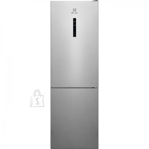 Electrolux Külmik Electrolux, 186 cm, A++, 42 dB, elektrooniline juhtimine, rv teras, 208/94 l