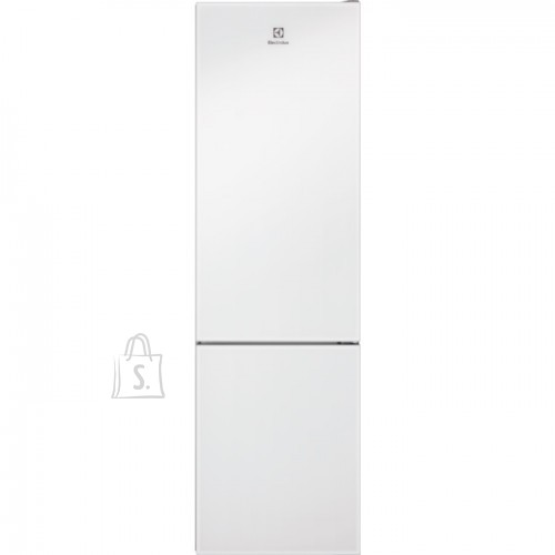 Electrolux Külmik Electrolux, 201 cm, A++, 42 dB, NoForst, elektrooniline juhtimine, valge klaas uksel, 244/94 l
