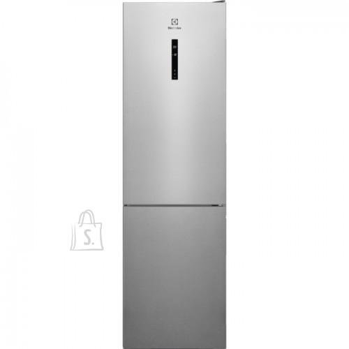 Electrolux Külmik Electrolux, 201 cm, A++, 42 dB, NoForst, elektrooniline juhtimine, rv teras, 244/94 l
