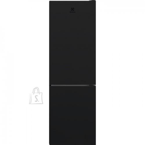 Electrolux Külmik Electrolux, 186 cm, A++, 42 dB, NoForst, elektrooniline juhtimine, must, 230/94 l