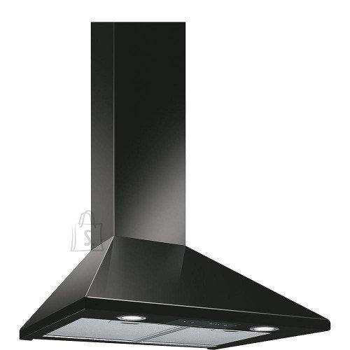 Smeg Õhupuhastaja Smeg, Seina, 60 cm, must, 635 m3/h, 67 dB