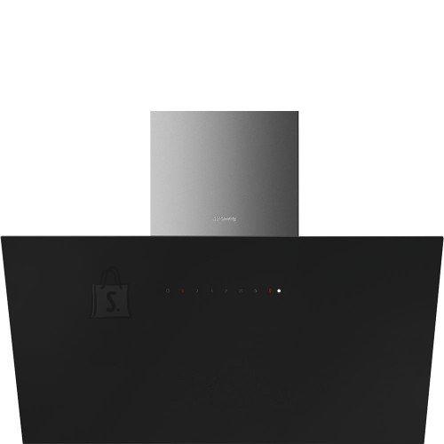Smeg Õhupuhastaja Smeg, seina, 90 cm, 62 dB, 720 cm3/h, must klaas