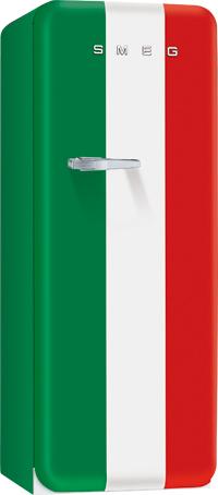 Smeg külmik Itaalia Trikoloor retrostiilis 151cm A++