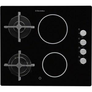 Electrolux 2 põletiga ja 2 keraamilise keedualaga pliidiplaat