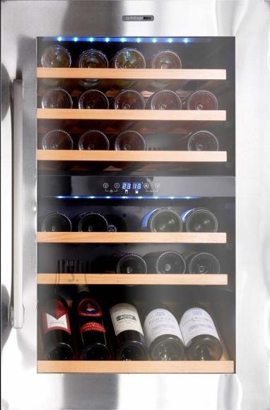 Climadiff integreeritav veinikülmik 55 pudelile