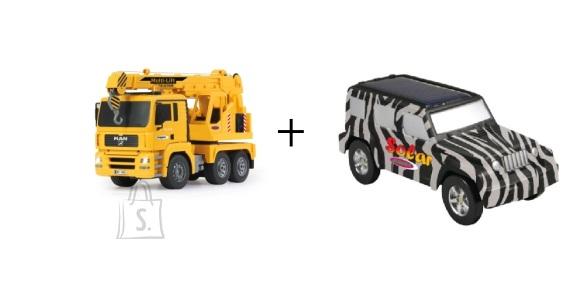 Jamara raadioteel juhitav kraana veoauto Man + kingitus