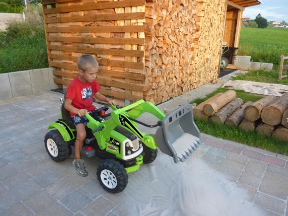 Jamara elektrisõiduk kopp Multi green 6V lastele