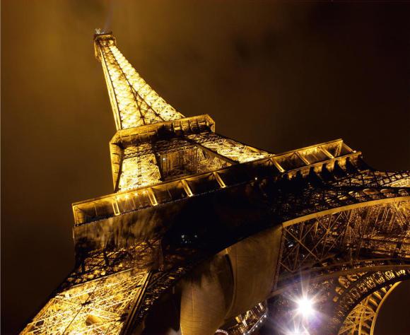 Fliis fototapeet Eiffel Tower, 360 X 270CM