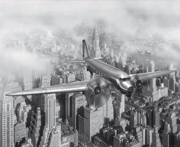 Fliis fototapeet View of the city, 360x270cm