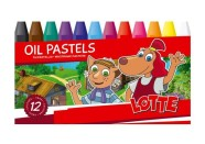 Bradley Õlipastellid 12 värvi Lotte
