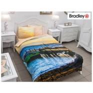 Bradley satiinist voodipesukomplekt Ootel tekikott 150x210cm + padjapüür 50x60cm
