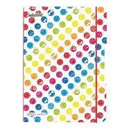 Herlitz kaustik flex A4 Smiley Rainbow