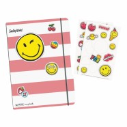 Herlitz kaustik flex A5/40 Smiley Girly ruuduline