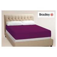 Bradley kummiga voodilina 90x200 cm, erinevad värvid