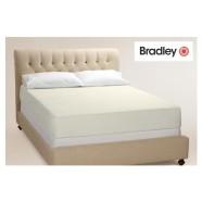 Bradley kummiga voodilina 140x200 cm, erinevad värvid