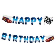 SusyCard pabervanik Super Racer Happy Birthday 2m