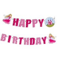 SusyCard pabervanik Printsess Happy Birthday 2m